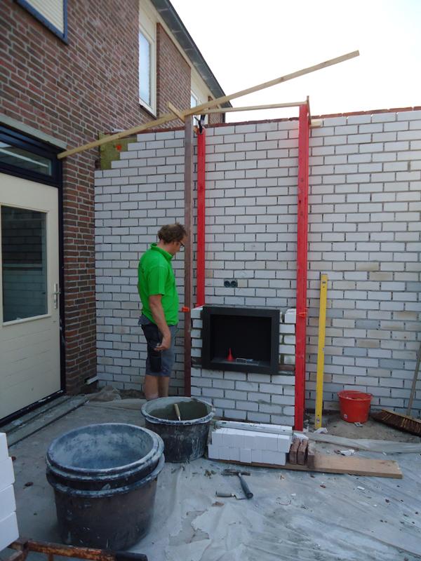 Zeer Hugo Verstappen Bouw- en Timmerbedrijf - Moderne overkapping met  @IC53