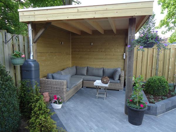 Overkapping In Tuin : Tuin afdak villa tuin met overdekte patio with tuin afdak