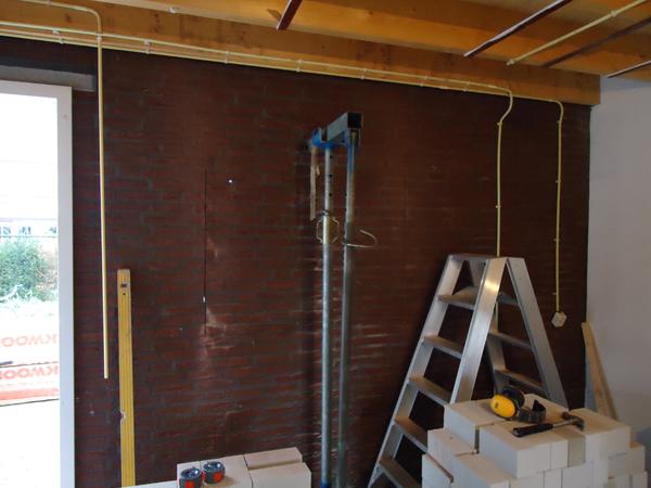 Kosten Garage Isoleren : Hout beton schutting halfsteens garage isoleren