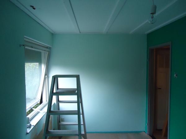 Hugo verstappen bouw en timmerbedrijf zolderverbouwing met een dakkapel van 6 meter breed for Slaapkamer op de zolderfotos